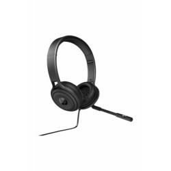 USB 500 Mikrofonlu Kulaküstü Kulaklık SİYAH