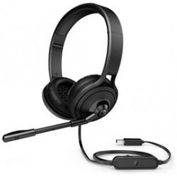 Gaming Headsets | HP 1NC57AA USB 500 Headset