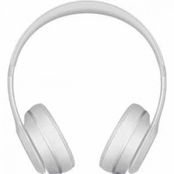 Beats By Dre Solo3 Bluetooth On-Ear Headphones with Mic Control - Matte Silver