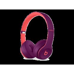 BEATS MRRG2ZE/A Solo 3 Kablosuz Kulak Üstü Kulaklık Mor