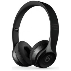 Beats by Dre Solo 3 On-Ear Wireless Headphones - Gloss Black