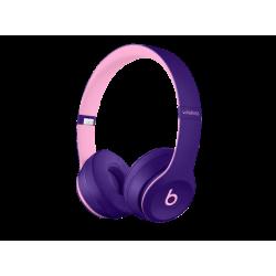 BEATS Solo3, On-ear Kopfhörer Bluetooth Lila/Pink