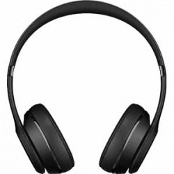 Beats By Dre Solo3 Bluetooth On-Ear Headphones with Mic Control - Black