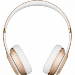 Beats By Dre Solo3 Bluetooth On-Ear Headphones with Mic Control - Gold