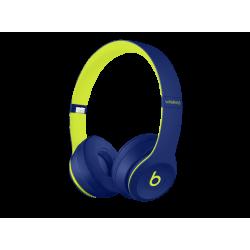 BEATS Solo3, On-ear Kopfhörer Bluetooth Blau/Gelb
