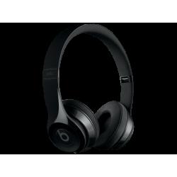 BEATS SOLO3 wireless bluetooth fejhallgató, fényes-fekete