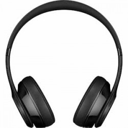 Beats By Dre Solo3 Bluetooth On-Ear Headphones with Mic Control - Gloss Black
