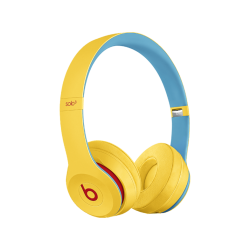 BEATS Solo3 Wireless Club Collection (2019) - Bluetooth Kopfhörer (On-ear, Clubgelb)
