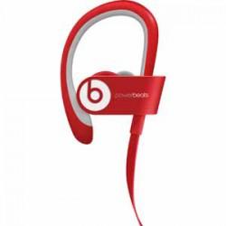 BEATS | BEATS BY DRE Powerbeats In-Ear Wireless Headphones with Mic - Red - Open Box