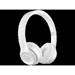 BEATS SOLO3 wireless bluetooth fejhallgató, fényes-fehér