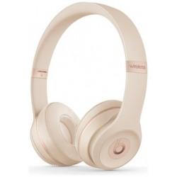 Beats by Dre Solo 3 On-Ear Wireless Headphones- Satin Gold