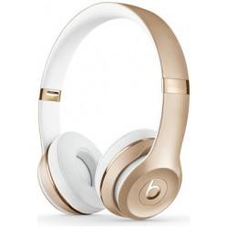 Beats by Dre Solo 3 On-Ear Wireless Headphones - Gold