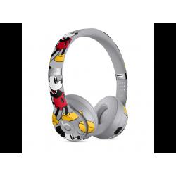BEATS Solo 3 Wireless Jubiläumsedition zum 90. Geburtstag von Micky Maus, On-ear Kopfhörer Bluetooth Grau