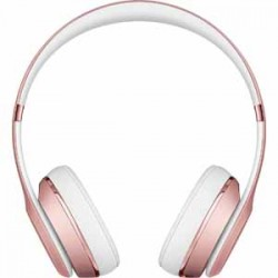 Beats By Dre Solo3 Bluetooth On-Ear Headphones with Mic Control - Rose Gold