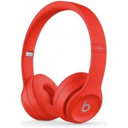 Beats by Dre Solo 3 On-Ear Wireless Headphones - Red