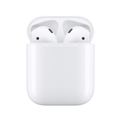 APPLE Écouteurs sans fil AirPods 2 + Station de charge (MV7N2ZM/A)