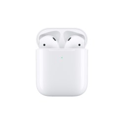 APPLE AirPods mit kabellosem Ladecase 2. Gen, In-ear True Wireless Kopfhörer Bluetooth Weiß