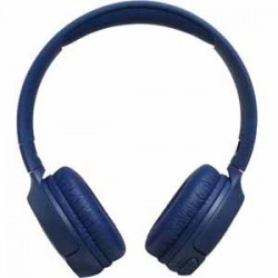 JBL Tune 500BT Blue On Ear Headphone Bluetooth Wireless Headphone One Button Remote Speakerphone