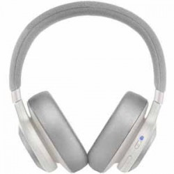 JBL E65 NC White Wireless Over-Ear Active Noise Cancelling 24 hour battery
