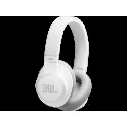 JBL LIVE 650BTNC - Bluetooth Kopfhörer (Over-ear, Weiss)
