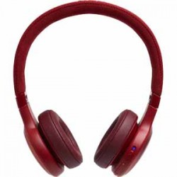 JBL LIVE 400BT Red AM On Ear Headphone Wireless Bluetooth Headphone Voice Assistant Speakerphone
