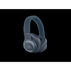 JBL E65BTNC, Over-ear Kopfhörer Bluetooth Blau