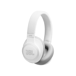 JBL Live 650BTNC bluetooth fejhallgató, fehér