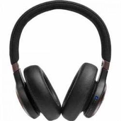 JBL LIVE 650BTNC Black AM Over Ear Headphone Wireless Bluetooth Noise Canceling Voice Assistant Speakerphone