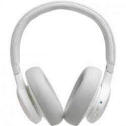 JBL LIVE 650BTNC White AM Over Ear Headphone Wireless Bluetooth Noise Canceling Voice Assistant Speakerphone