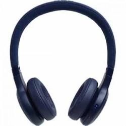 JBL LIVE 400BT Blue AM On Ear Headphone Wireless Bluetooth Headphone Voice Assistant Speakerphone