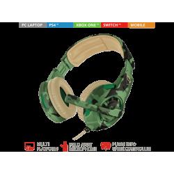 Headsets | TRUST Casque gamer GXT 310C Jungle Camo (22207)