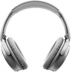 Bose® QuietComfort 35 Wireless II Headphones Bluetooth and NFC - Silver