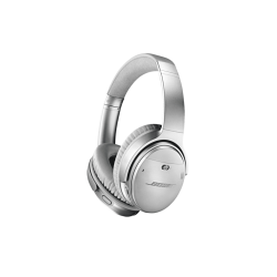 BOSE Quietcomfort 35 II, Over-ear Kopfhörer Bluetooth Silber