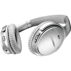 BOSE QuietComfort 35 II - Bluetooth Kopfhörer (Over-ear, Silber)