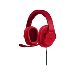 Headsets | LOGITECH Casque gamer G433 7.1 Surround Gaming Headset Fire Red