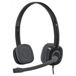 Laptop and PC headsets | Logitech H150 Stereo PC Headset - Black