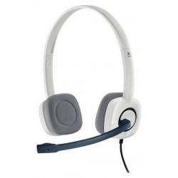 Logitech H150 Stereo PC Headset - White