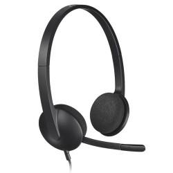 Logitech H340 PC Headset - Black