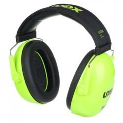 Drummer's Headphones | UVEX K Junior Ear Protector lime