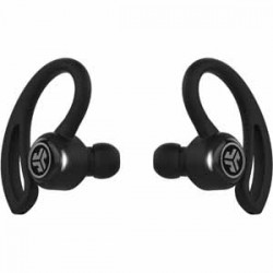 True Wireless Headphones | JLab Epic Air True Wireless Sport Earbuds + Charging Case - Black