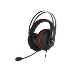 Gaming Headsets | Asus TUF Gaming H7 Red 7.1 Oyuncu Kulaklık