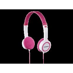 Kids' Headphones   THOMSON HED1105 - Kinderkopfhörer (On-ear, Weiss/pink)