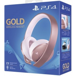 Bluetooth & Wireless Headsets | Sony Gold Wireless PS4 Headset - Rose Gold