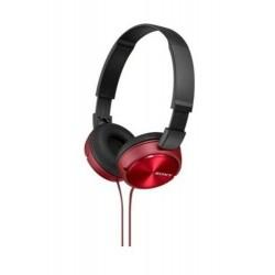 MDR-ZX310R Kulaküstü Kırmızı Kulaklık