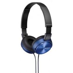 Headphones | Sony ZX310 On-Ear Headphones - Blue