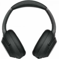 Sony Wireless Noise-Canceling Headphones - Black