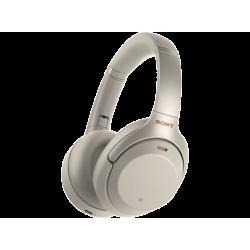 SONY WH 1000 XM3N Bluetooth fejhallgató, ezüst
