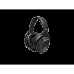TV Headphones | SENNHEISER HDR 175 - Zusätzliches Hörersystem für den RS 175, Over-ear Kopfhörer  Schwarz
