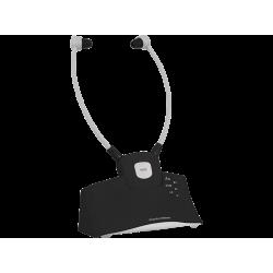 TV Headphones | TECHNISAT StereoMan ISI 2 - Funkkopfhörer mit Ladestation (In-ear, Schwarz)