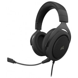 Laptop and PC headsets | Corsair HS50 Pro PC, Xbox One, PS4 Gaming Headset - Black